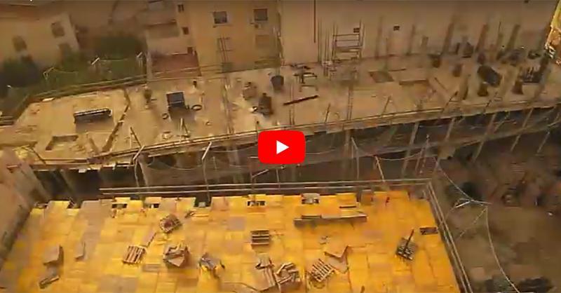 Cómo es la construcción de un edificio